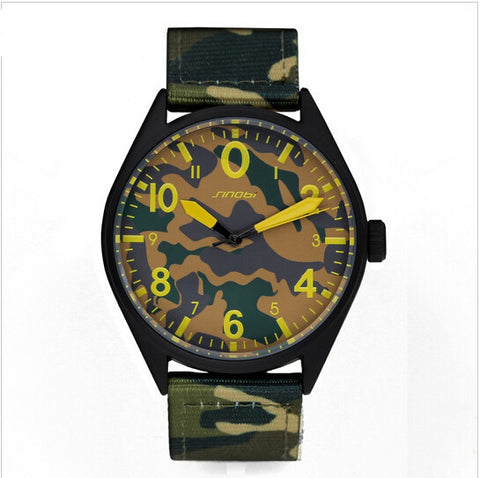 Camouflage Nylon Army Waterproof Quartz Watch - Necessities Australia