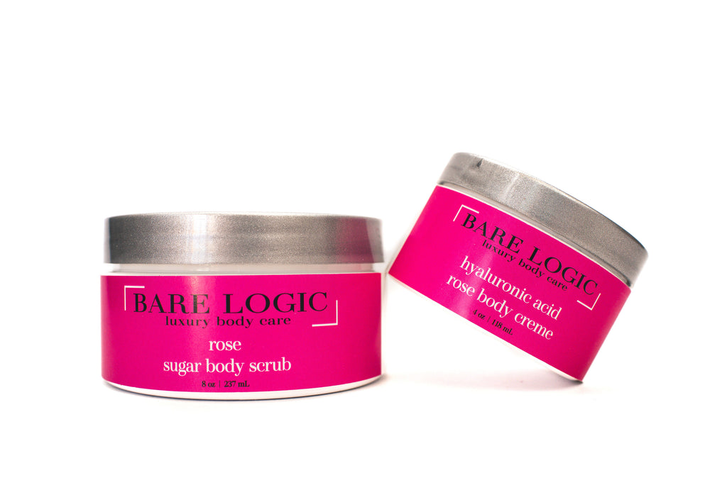 Rose Scrub and Body Creme Combo