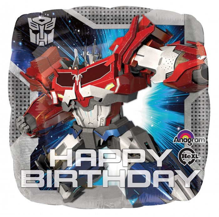 Standard Transformers Animated Happy Birthday