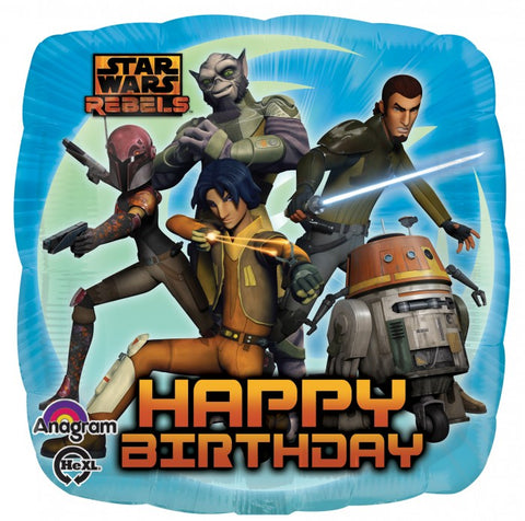 Standard Star Wars Rebels Happy Birthday