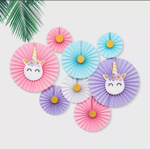 Pony decorative fans