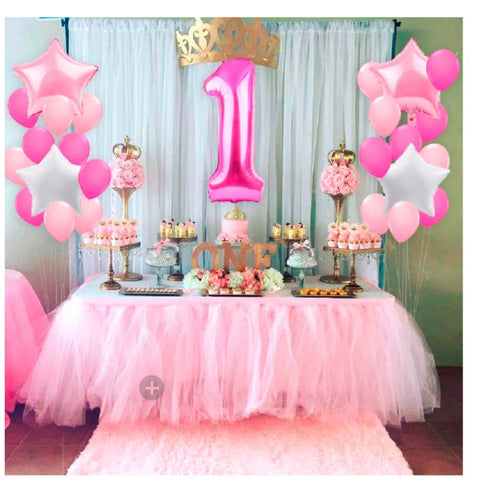 Girl's first birthday party theme