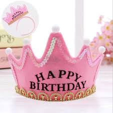 Flash light birthday crown