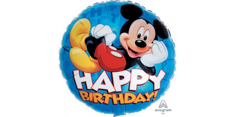 "17"" Mickey Happy Birthday"