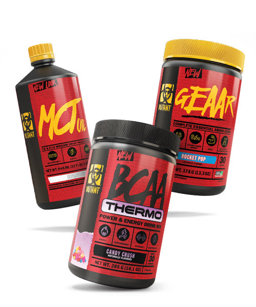 MCT oil, GEAAR, BCAA Thermo