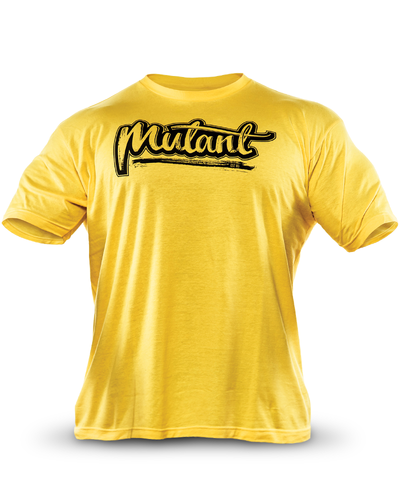 Collectors Script Yellow Tee