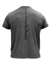 Mutant Legacy Grey Heather Logo Tee - Back