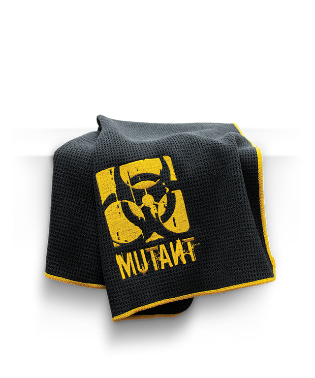 MUTANT Microfiber Black Bench Towel