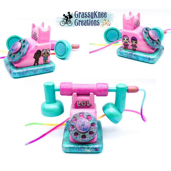 LOL Glitter Dolls Antique Phone Preorder