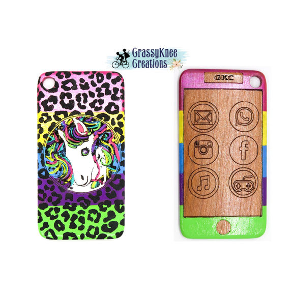 Colorful Unicorn Cell Phone