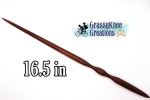16.5 in Chocolate colored Magic Wand