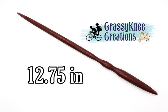 12.75 in Chocolate colored Magic Wand