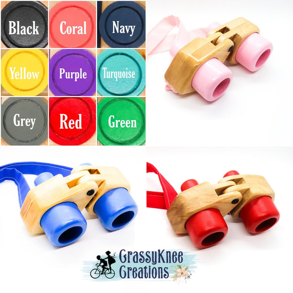 Classic Binoculars: Multiple Color Options Available