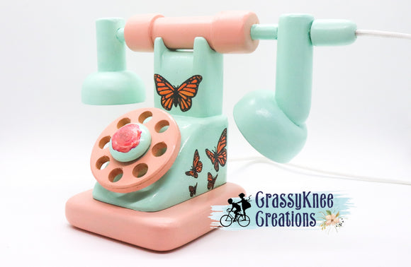 Butterfly Antique Phone