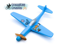 Blue Dog P-51 Airplane PREORDER