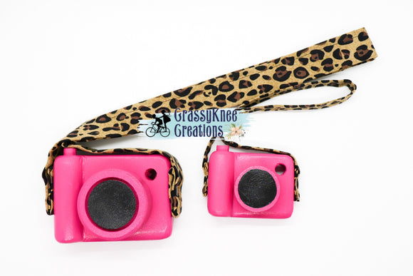 Dolly and Me Hot Pink Leopard Set