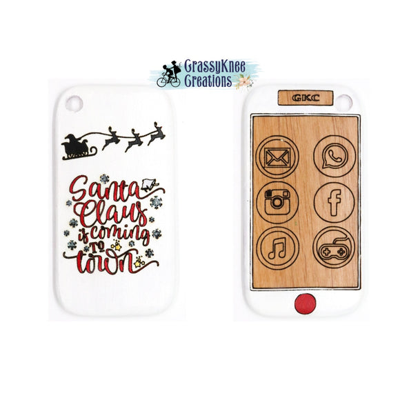 Santa Claus is Coming Smart Phone Preorder