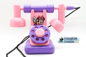 Duck and Mouse Besties Antique Phone Preorder