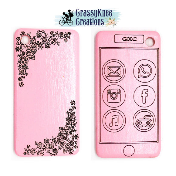 Pink Lace Smartphone
