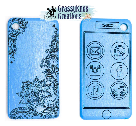 Blue Lace Smartphone