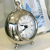 Rounded Polished Hamptons Clock
