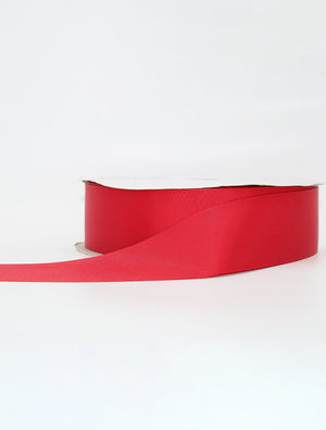 Red Thick Ribbon Per Metre