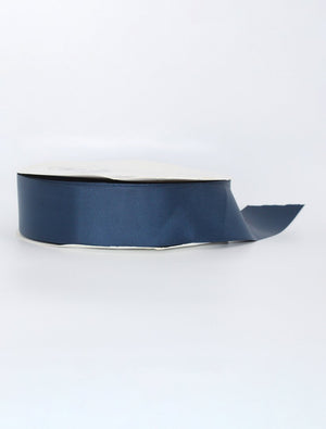 Navy Thick Ribbon Per Metre