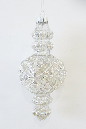 Final Bauble Diamond Silver