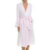 Pure Silk Long Robe Pink