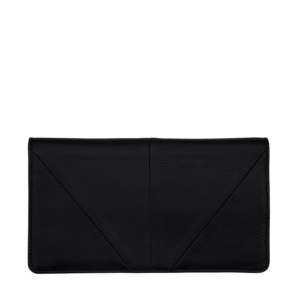 STATUS ANXIETY - TRIPLE THREAT - BLACK WALLET