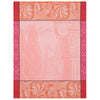 Baroque Tea Towel Porcelaine Pink 60cm X 80cm
