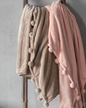 Lucinda Throw Taupe