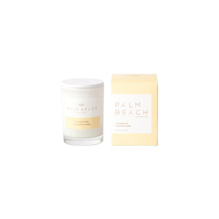 PALM BEACH - COCONUT & LIME - MINI CANDLE 90G
