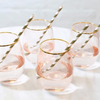 Glassware Rose Crystal Tumbler