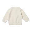 Grace Cable Knit Cardigan 00 - Marshmallow