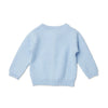 Grace Cable Knit Cardigan 00 - Pale Blue