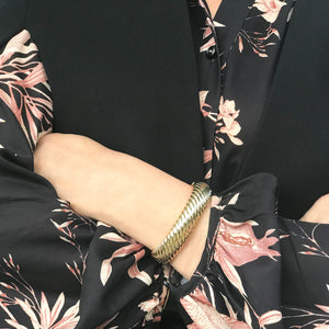Gold Rope Bangle Gold
