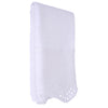 Beaded Embroidery Hand Towel White