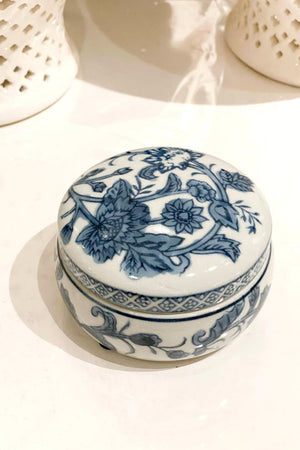 Blue and White Trinket Dish