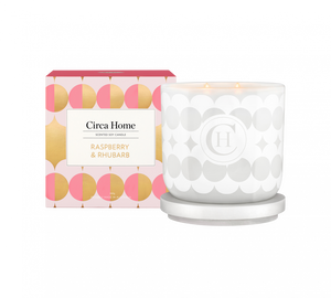 Circa Home Raspberry And Rhubarb Candle 19 260G