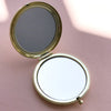 My Beautiful Friend Compact Mirror Gold