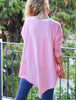 Poncho Jumper Light Pink