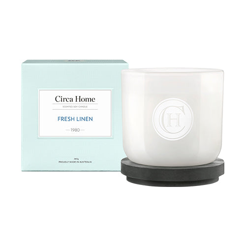 Circa Home - 1980 Fresh Linen - Classic Candle 260G