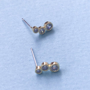 Crystal Bubble Studs