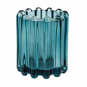 Ribbed Tlite Blue Small