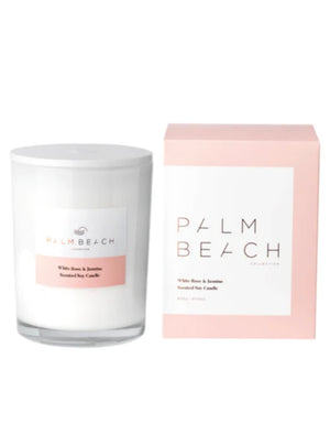 Palm Beach White Rose and Jasmine Deluxe Candle