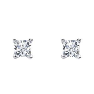 Ss 5Mm Princess Wh Cz Claw Studs