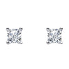 Ss 6Mm Princess Wh Cz Claw Studs
