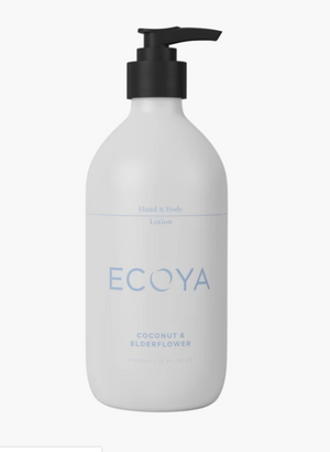 ECOYA Coconut Elderflower Hand Body Lotion 450ml