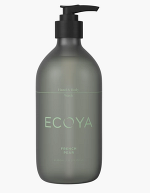 ECOYA French Pear Hand Body Wash 450ml